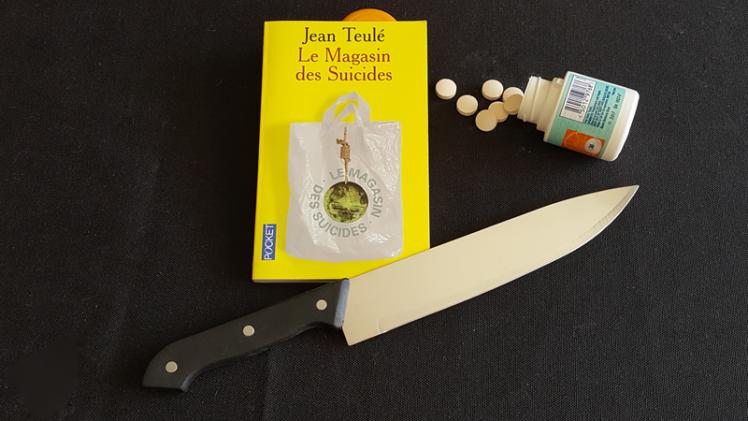 Le Magasin des Suicides, de Jean Teulé